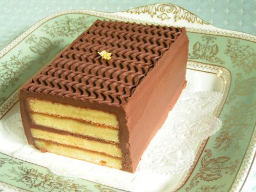 ガナシュ・ダマンド・ケーキ