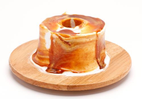キャラメルシフォンケーキ
