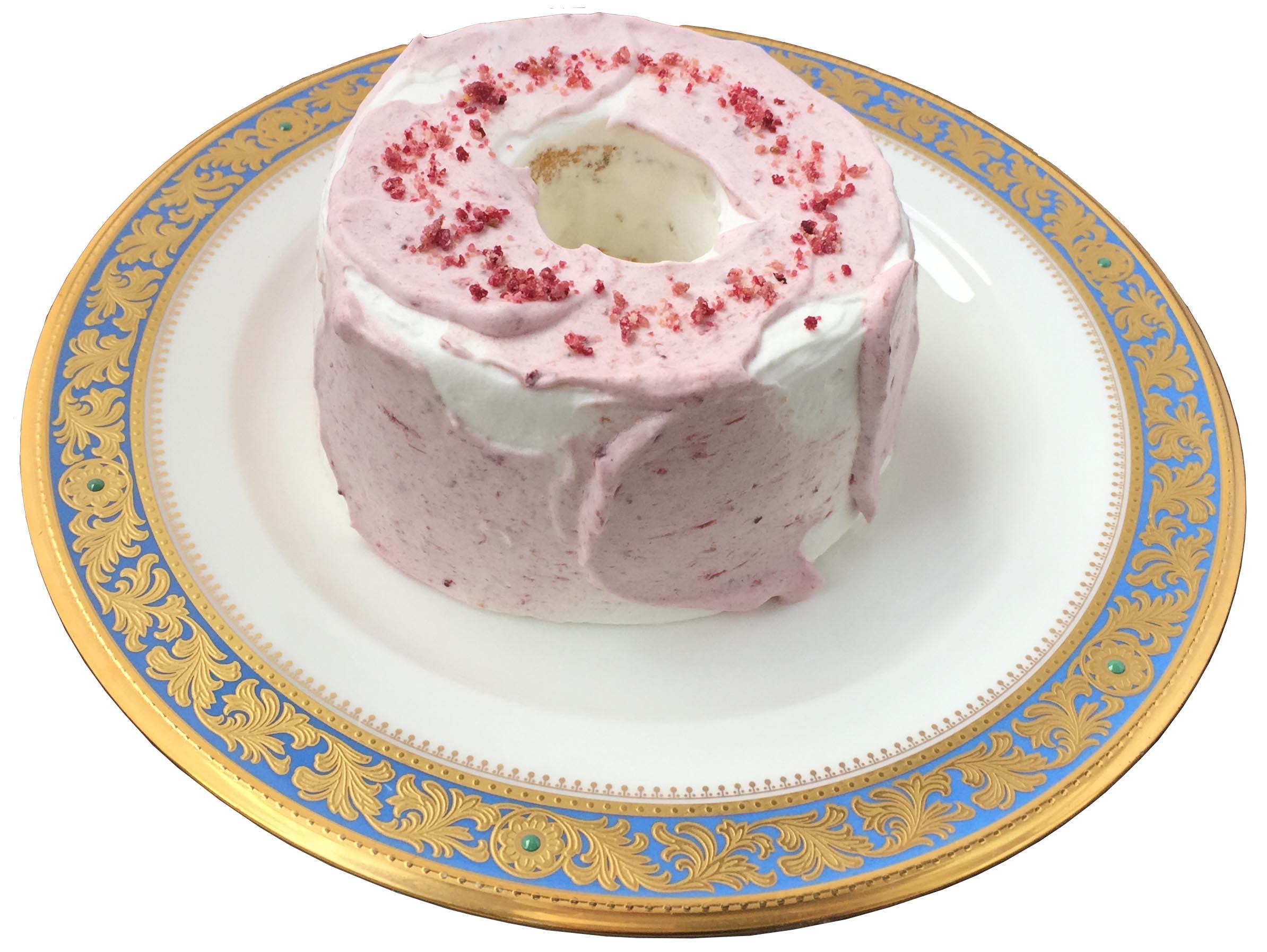キャラメルシフォンケーキ (桜)ストロベリー
