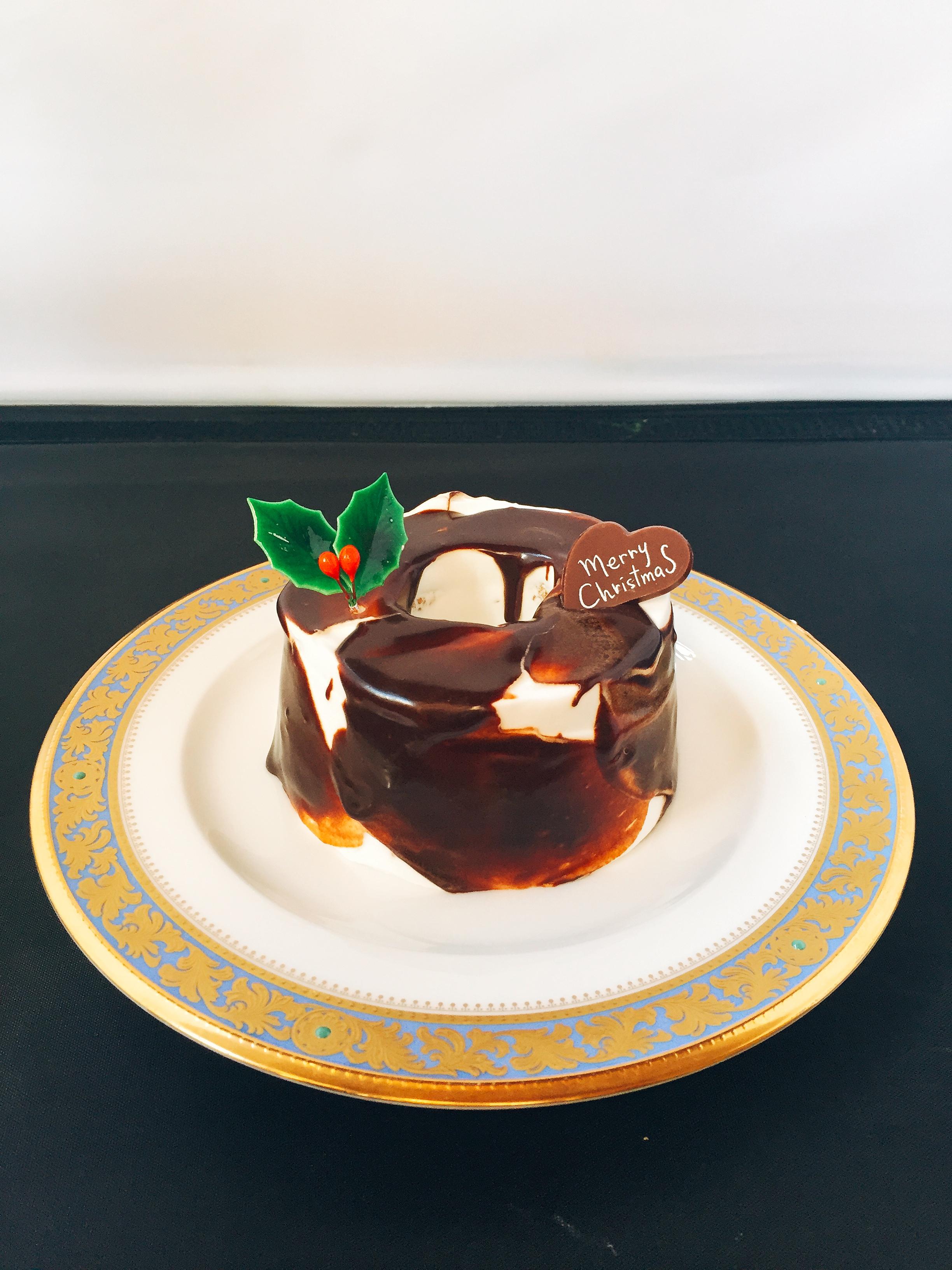 クリスマスキャラメルシフォンケーキ